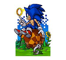 Sonic: Return to Green Hill Photographic Print