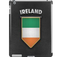 Ireland Pennant with high quality leather look iPad Case/Skin