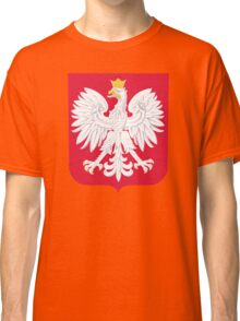 Poland Coat Of Arms Classic T-Shirt