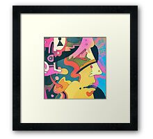 Abstract Art Color Framed Print
