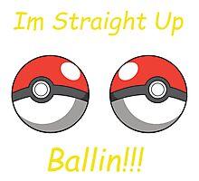 Pokemon Ballin Photographic Print