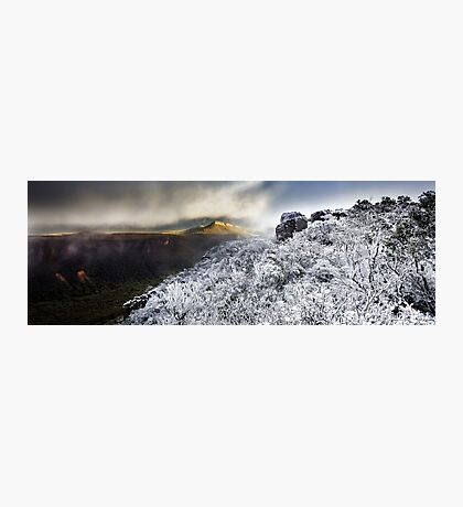 Mount William Snow (Panorama) Photographic Print