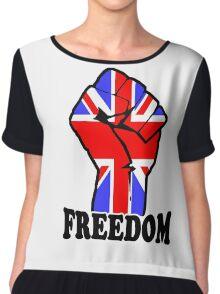 FREEDOM - UK  Chiffon Top