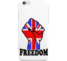 FREEDOM - UK  iPhone Case/Skin