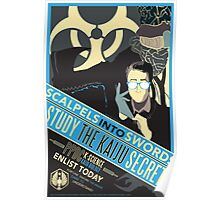 Pacific Rim: Study the Kaiju Secrets Poster