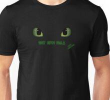 Team Night Fury - Black Only Unisex T-Shirt