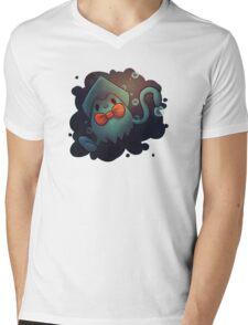 Squidji Mens V-Neck T-Shirt