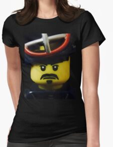 Mr. Kendo Fighter Womens Fitted T-Shirt