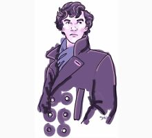 Purple Sherlock Unisex T-Shirt