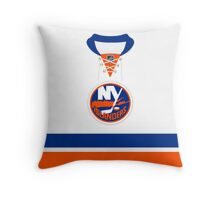 New York Islanders Away Jersey Throw Pillow