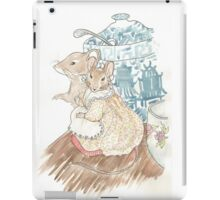 The Mice Listen to the Tailor's Lament iPad Case/Skin
