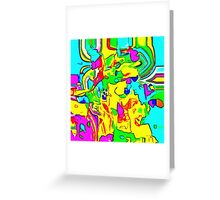 Abstract X2-11 Greeting Card