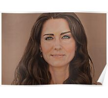 Catherine, Duchess of Cambridge Poster
