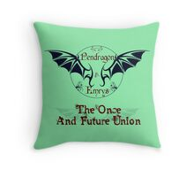 Pendragon & Emrys Throw Pillow