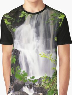 Lower Waterfall Aros Burn Graphic T-Shirt