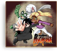 Psychteria - Main Characters Canvas Print