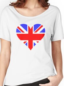 LOVE BRITAIN Women's Relaxed Fit T-Shirt