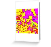 Abstract X2-12 Greeting Card