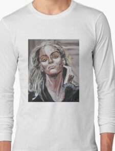 uma thurman Long Sleeve T-Shirt