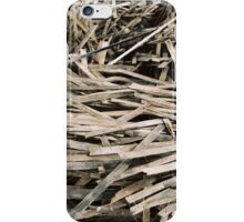 Wood Spiral Texture iPhone Case/Skin