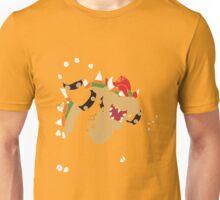 Bowser Pixel Silhouette Unisex T-Shirt