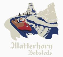 Matterhorn Bobsleds One Piece - Long Sleeve