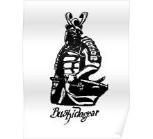 """Bushidogear"" Artwork by Carter L. Shepard""  Poster"