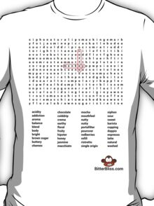 Coffee word puzzle T-Shirt