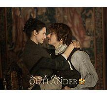 Jamie & Claire Fraser Photographic Print