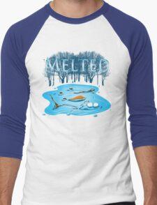 Melted Men's Baseball ¾ T-Shirt