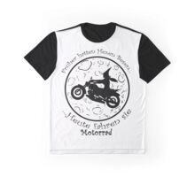 Witch on a motorbike Graphic T-Shirt