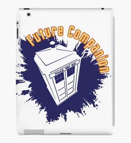 Doctor Who: Future Companion with TARDIS  iPad Case/Skin