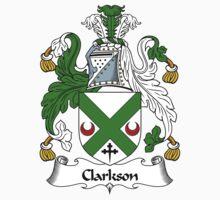 Clarkson Coat of Arms / Clarkson Family Crest Kids Tee