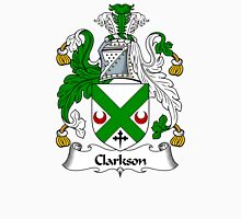 Clarkson Coat of Arms / Clarkson Family Crest Unisex T-Shirt