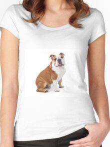 Lord Bulldog Women's Fitted Scoop T-Shirt