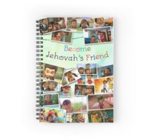 Become Jehovah's Friend - Caleb and Sophia Snapshots Spiral Notebook