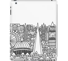 London Landmarks Sketch iPad Case/Skin