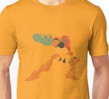 Samus Pixel Silhoutte Unisex T-Shirt