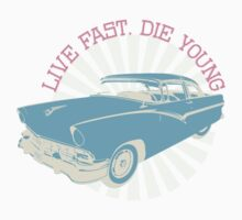 Live fast, die young Baby Tee
