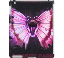 Jurassic Park alt Movie Poster iPad Case/Skin