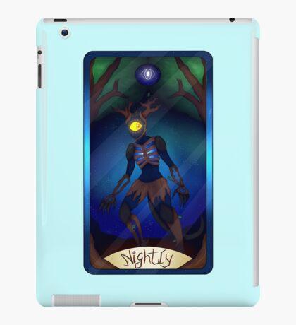 Nightly Tarot card iPad Case/Skin