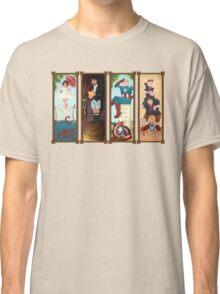 Avengers Stretching Portraits Classic T-Shirt
