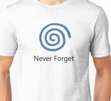 Never Forget: Dreamcast Unisex T-Shirt