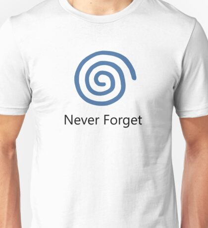 Never Forget: Dreamcast Unisex T-Shirt