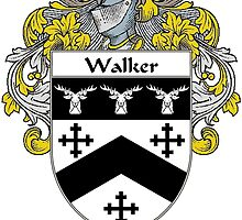 Walker Coat of Arms / Walker Family Crest by William Martin
