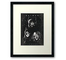 Batman Returns Alternative Movie Poster Framed Print