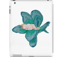 Baby sleeping in flower iPad Case/Skin