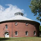 """ Nut Wood"" Round Barn by LarryB007"