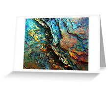 Metallic Layers Greeting Card