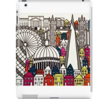 London Landmarks Sketch Colour 1 iPad Case/Skin